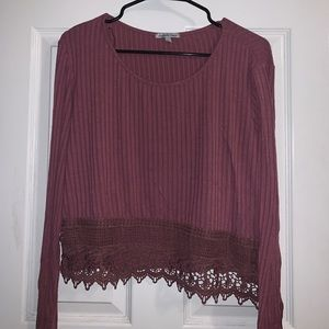 Pink Charlotte Russe Top